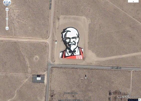 12 Strangest Sights on Google Earth