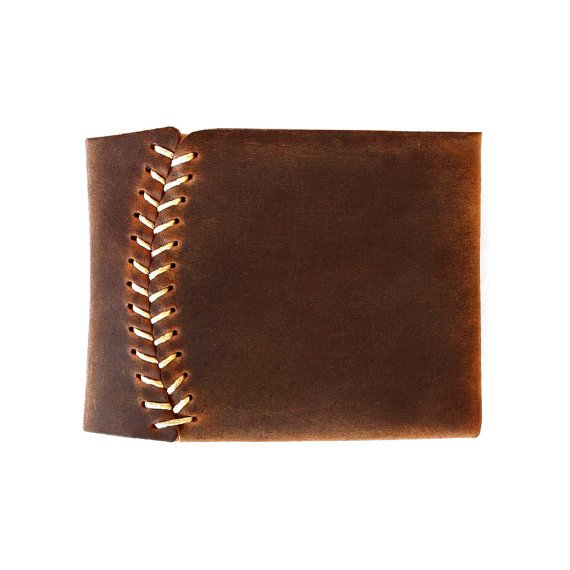 Bifold Leather Wallet hand stitched Men wallet and par AtelierPall