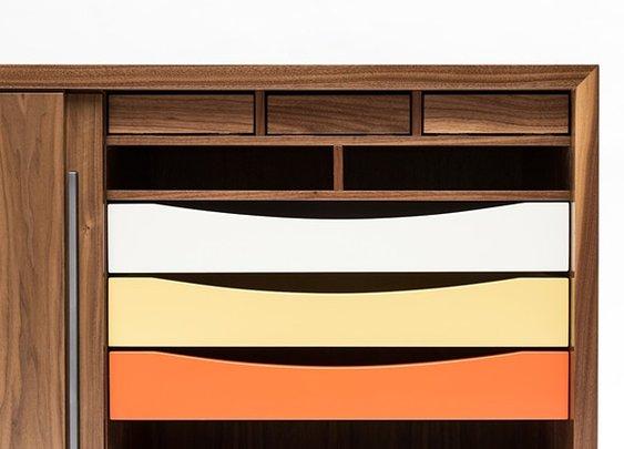zakrose - walnut sideboard