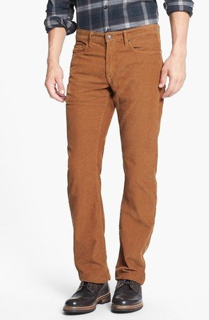 Straight Leg Five-Pocket Pants
