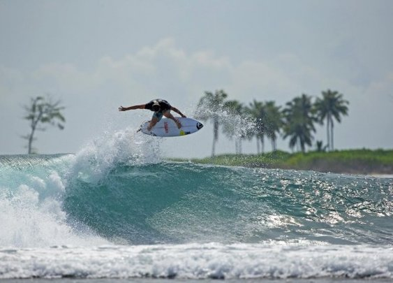 Dane Reynolds Hurt in Indonesia | Channel Islands Surfboards By Al Merrick