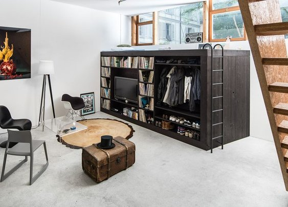 Environmental furniture Living Cube