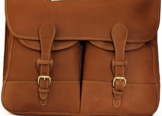 All Leather Angler's Bag - Bags