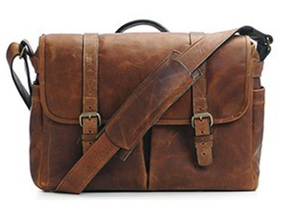 ONA |  The Brixton - Camera and laptop messenger bag