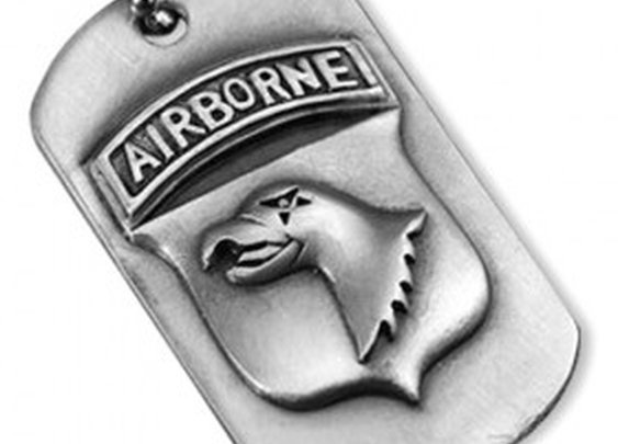 Band of Brothers Military Dog Tag