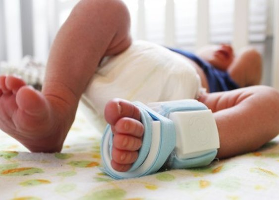 Owlet smart sock keeps tabs on your baby's vital signs