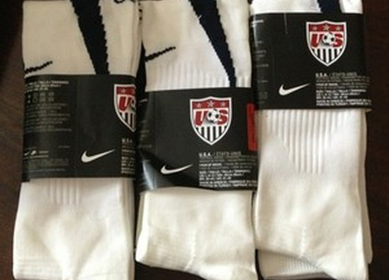 Nike Large USA Adult Unisex Football Futbol White Blue | eBay