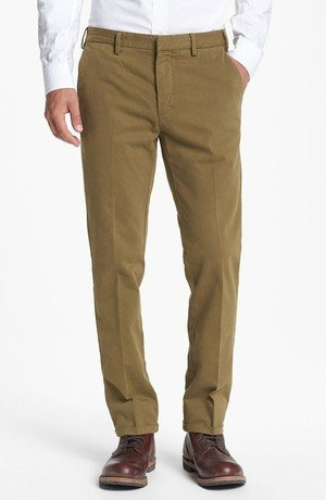'Winter' Slim Straight Leg Chinos