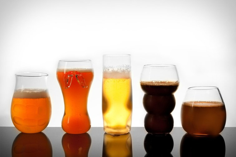Pretentious Beer Glasses | Uncrate