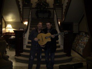 Jeffrey Thomas and Lulo Reinhardt Gypsy Jazz Guitar