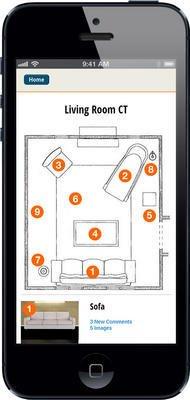 Smart Phone App -  Idego Interior Design