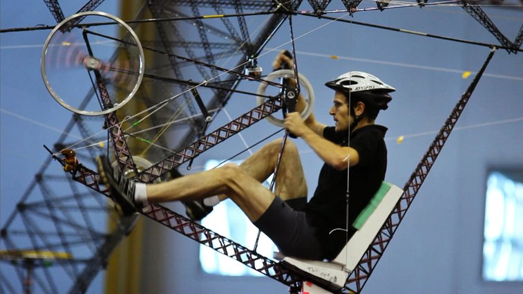 Human-Powered Helicopter - Straight Up Difficult : NPR