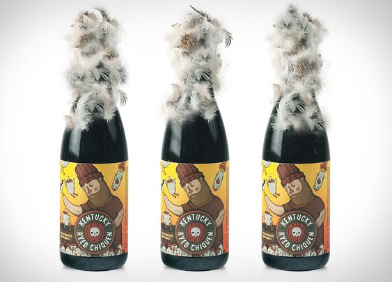 Kentucky Ryed Chiquen Beer | Uncrate