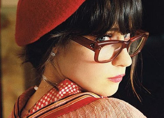 Zooey Deschanel / Glasses on imgfave