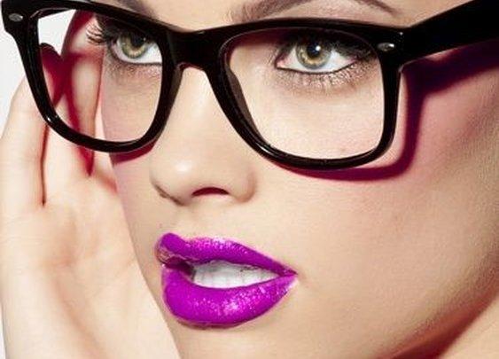 lipstick / Glasses on imgfave