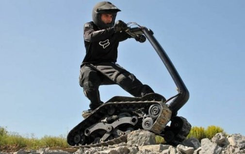 DTV Shredder - Skateboard, Jetski, ATV All Rolled into One Cool Package | Oddity Central - Collecting Oddities