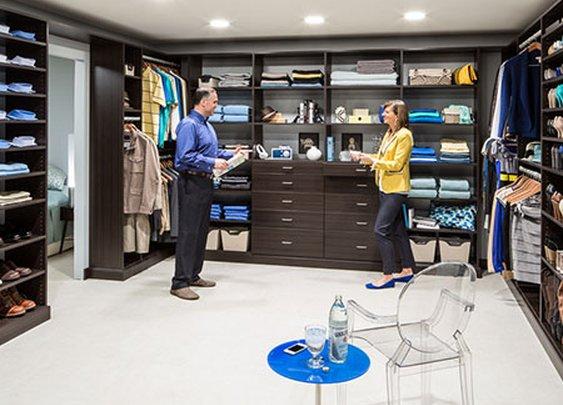 Closet Organizers | Custom Closet Systems & Design | EasyClosets