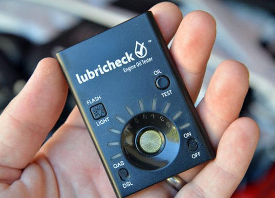 Lubricheck Engine Oil Tester & Analyzer | DudeIWantThat.com