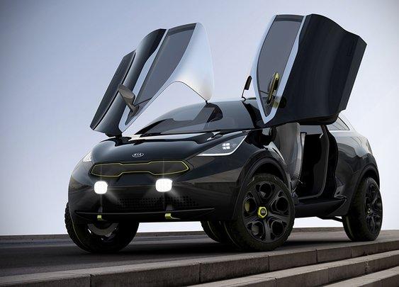2013 KIA Niro Concept - mikeshouts
