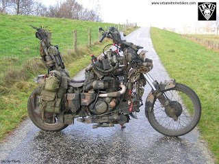 Attack Choppers: Random inspirational bikes: Survival bikes!