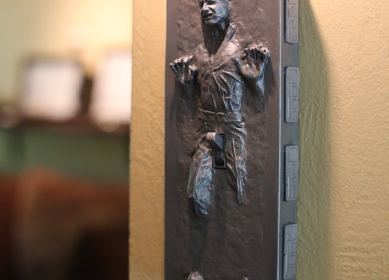 Hans Solo Carbonite Light Switch | That Should Be Mine