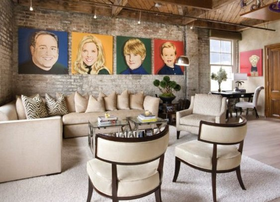 Pop Art Decor Inspiration In Living Room