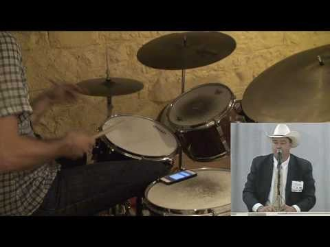 Dan Weiss's Drum Interpretation of Auctioneer Ty Thompson (Video)