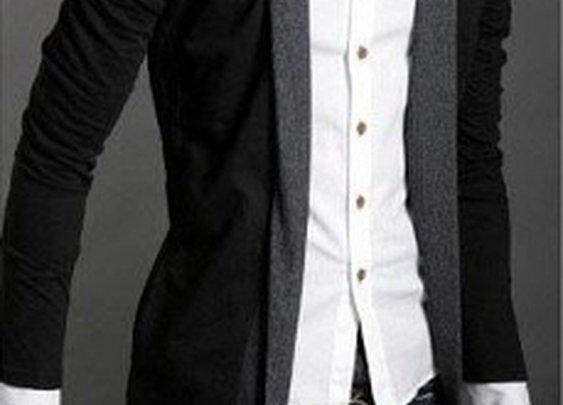 Men's KPOP style  Long Cardigan