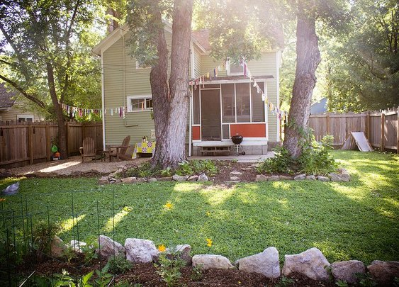 Meryl's Banging Backyard  My Great Outdoors | Apartment Therapy