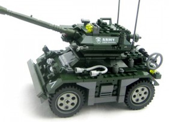 Military Assault Vehicle - Lego Compatible