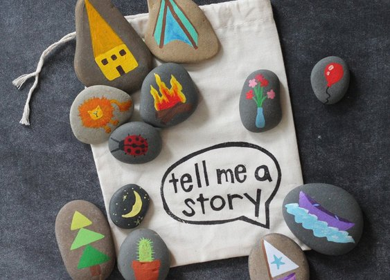 Buy or DIY:  Story Stones | Apartment Therapy