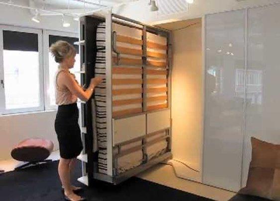 Resource Furniture: Italian-Designed Space Saving Furniture - YouTube
