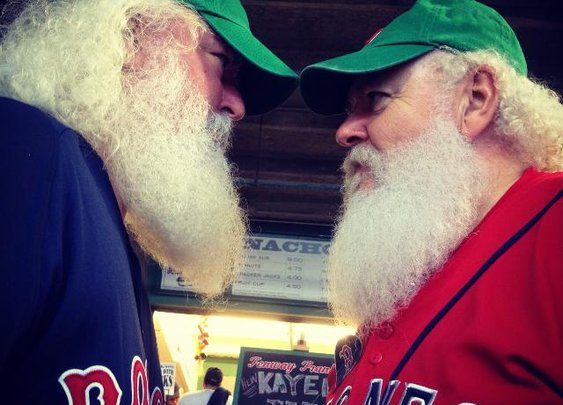 The most fantastically facial-haired fans from Fenway's Dollar Beard Night | MLB.com
