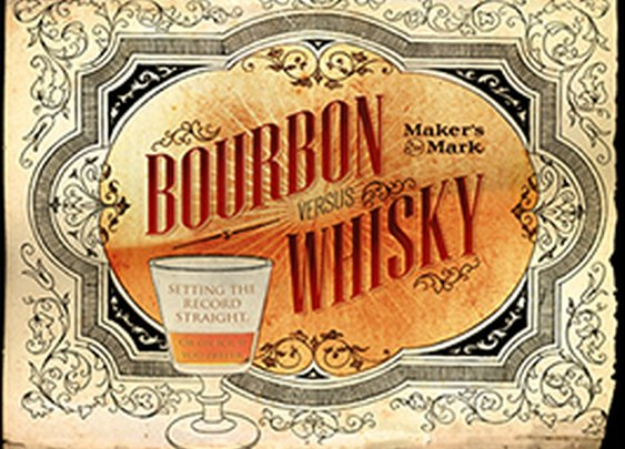 Bourbon vs. Whisky | Maker's Mark Infographic