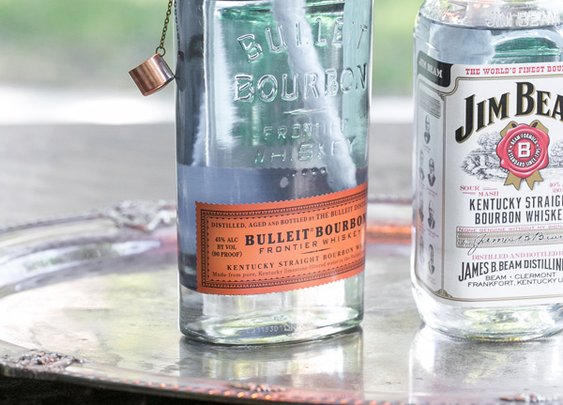 DIY Whiskey Bottle Tiki Torch