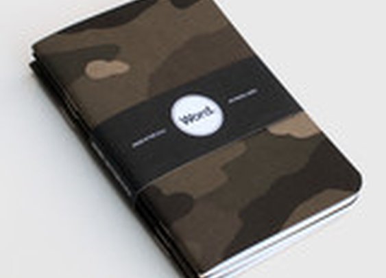 Word. Notebooks (3 Pack) - Cool Material