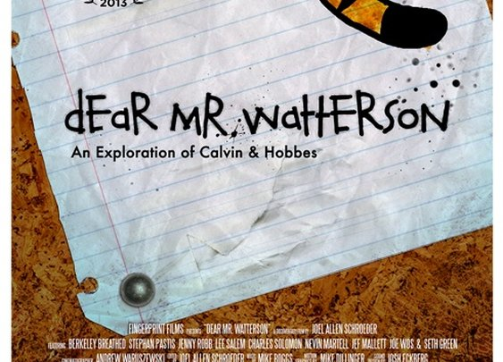 Dear Mr Watterson - Calvin And Hobbes Doc | The Coolector
