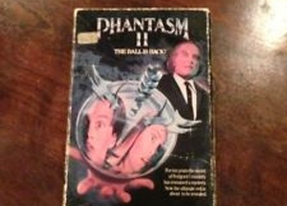 Horror VHS RARE Phantasm II Tall Man Coscarelli Psycho Spike Occult Ball | eBay