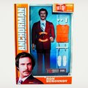 Talking Ron Burgundy Action Figure | Cool Material