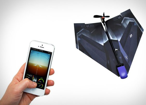 PowerUp 3.0 iPhone-Controlled Paper Airplane | Uncrate