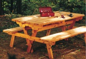 How to build a convertible picnic table – Cottage Life