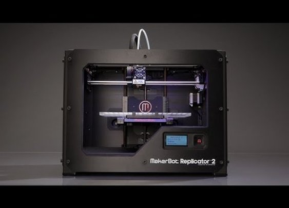 The MakerBot Replicator 2 - 3D Printer
