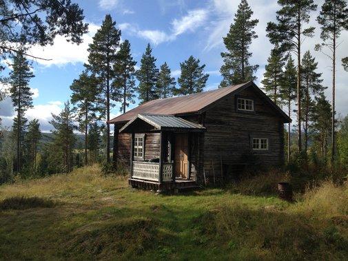 Rustic cabin in Ångermanland, Sweden