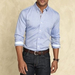 Long Sleeve Thurston Shirt-Slim Fit