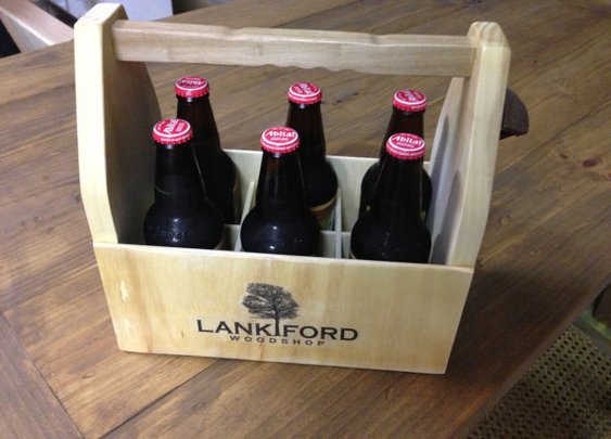 6 Pack Carrier For Your Brewski's by LankfordManor on Etsy