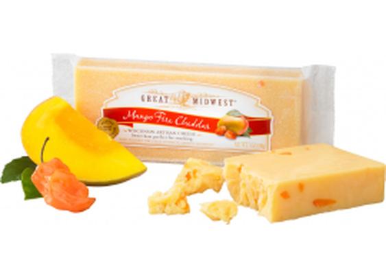Mango Fire Cheddar Cheese