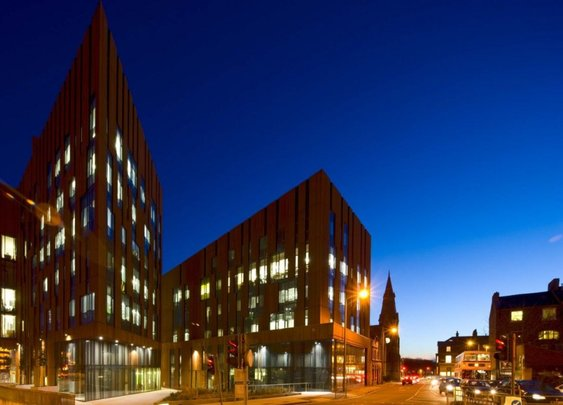Broadcasting Place Design by Feilden Clegg Bradley Studios