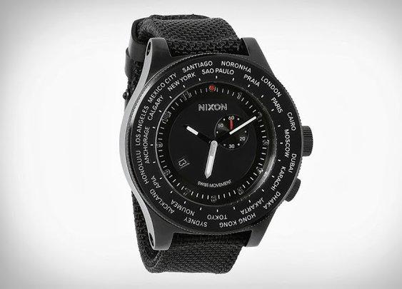Nixon Passport World Time Watch