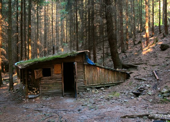 Cabin in Brdy Forrest, Czech Republic