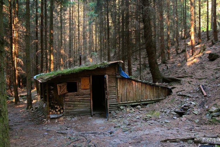 Cabin in Brdy Forrest, Czech Republic